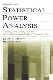 Statistical Power Analysis: A Simple and General Model for Traditional and Modern Hypothesis Tests