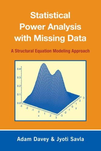 Statistical Power Analysis with Missing Data: A Structural Equation Modeling Approach 9780805863703