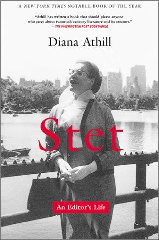 Stet: An Editor's Life 9780802138620