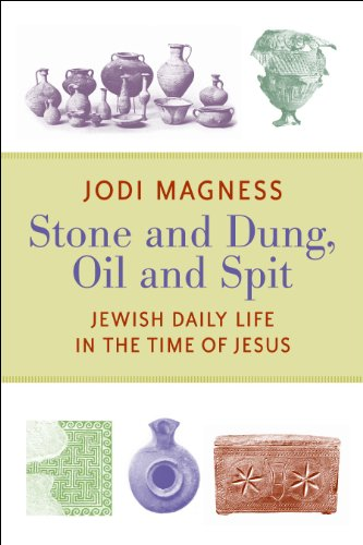 Stone and Dung, Oil and Spit: Jewish Daily Life in the Time of Jesus 9780802865588