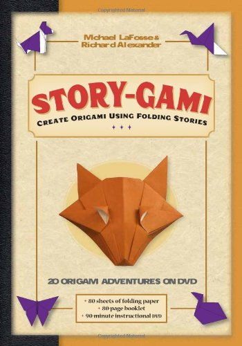 Story-Gami Kit: Create Origami Using Folding Stories 9780804841344