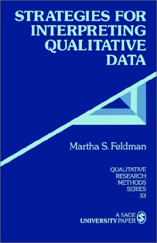 Strategies for Interpreting Qualitative Data 9780803959163