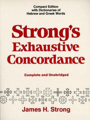 Strong's Exhaustive Concordance 9780801081088