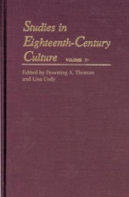 Studies in Eighteenth-Century Culture 9780801894350