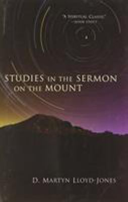 Studies in the Sermon on the Mount 9780802800367