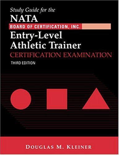 Study Guide for the Nata Board of Certification Inc. Entry-Level Athletic Trainer Certification Examination [With CDROM] 9780803607859