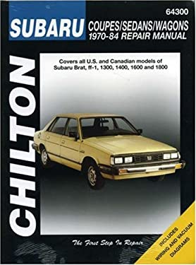 Subaru: Coupes/Sedans/Wagons 1970-84 9780801987908