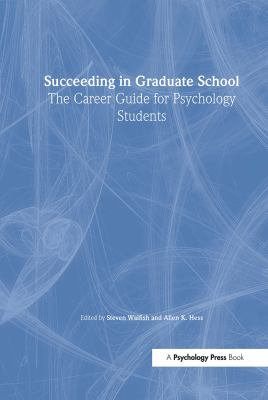 Succeeding in Graduate School CL 9780805836134