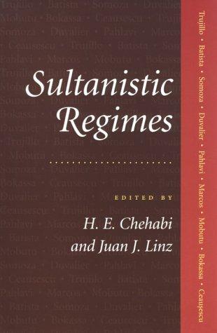 Sultanistic Regimes 9780801856945