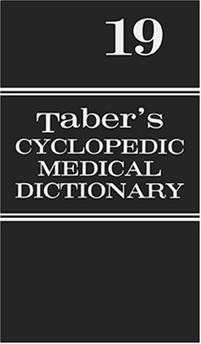 Taber's Cyclopedic Medical Dictionary 9780803606548