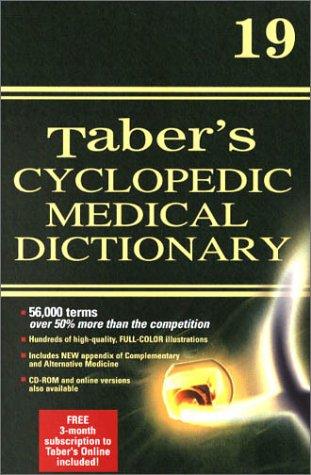 Taber's Cyclopedic Medical Dictionary 9780803606555