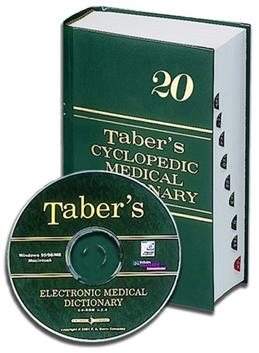 Taber's Cyclopedic Medical Dictionary Indexed Book with Taber's Electronic Medical Dictionary CD-ROM [With CDROM] 9780803613089