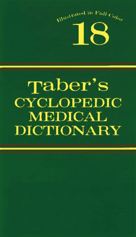 Taber's Cyclopedic Medical Dictionary (Plain) 9780803601949