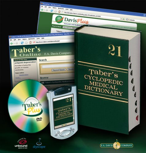 Taber's Cyclopedic Medical Dictionary [With DVD] 9780803615595