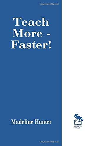 Teach More -- Faster! 9780803963184