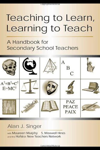 Teaching to Learn, Learning to Teach: A Handbook for Secondary School Teachers 9780805842159