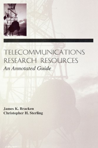 Telecommunications Research Resources: An Annotated Guide 9780805818864
