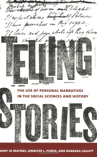 Telling Stories: The Use of Personal Narratives in the Social Sciences and History 9780801473920