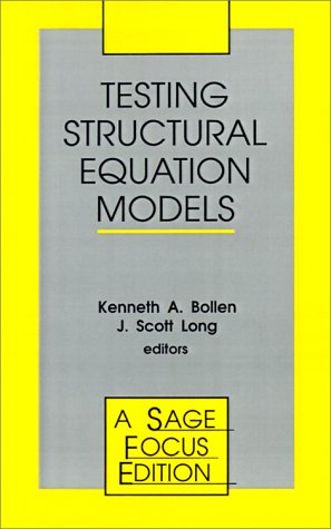 Testing Structural Equation Models 9780803945074