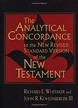 The Analytical Concordance to the New Revised Standard Version of the New Testament 9780802838384