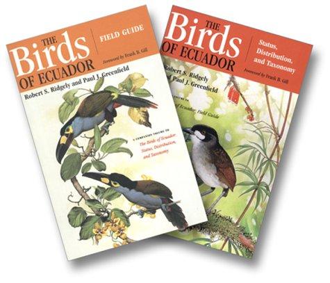 The Birds of Ecuador: 2-Volume Set: 2-Volume Set with Slip Case