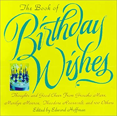 Book of Birthday Wishes 9780806521879