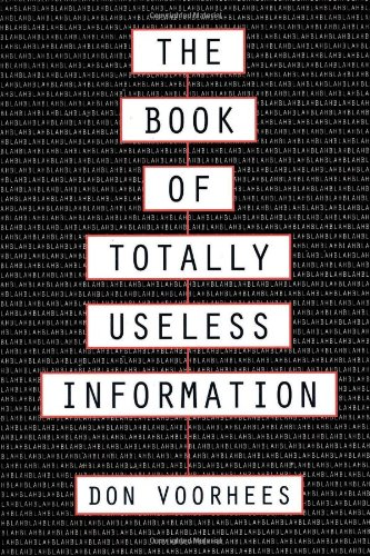 The Book of Totally Useless Information 9780806514055