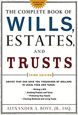 The Complete Book of Wills, Estates & Trusts 9780805078886
