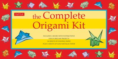 The Complete Origami Kit [With 2 Books and Paper, Metallic Paper, Objects, Etc.] 9780804818162