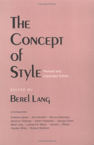 The Concept of Style 9780801494390
