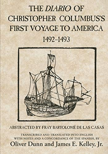 The Diario of Christopher Columbus's First Voyage to America, 1492-1493 9780806123844