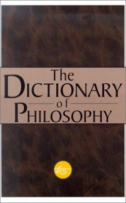 The Dictionary of Philosophy 9780806522890
