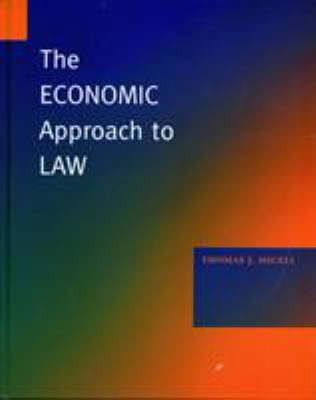 The Economic Approach to Law 9780804746557