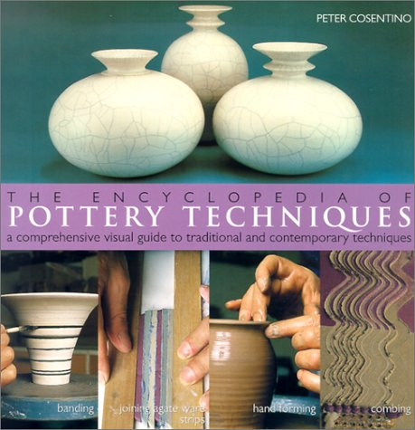 The Encyclopedia of Pottery Techniques: A Comprehensive Visual Guide to Traditional and Contemporary Techniques 9780806989136
