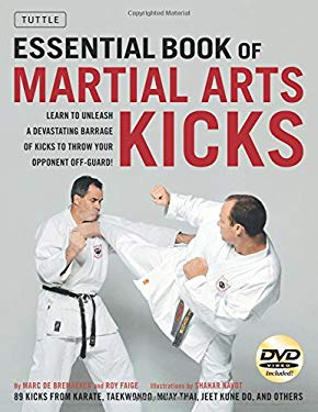Essential Book of Martial Arts Kicks [With DVD] 9780804841221