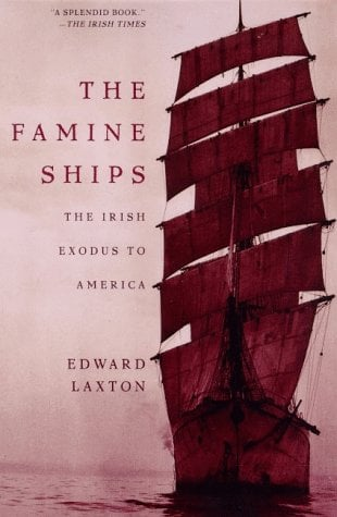 The Famine Ships: The Irish Exodus to America 9780805058444