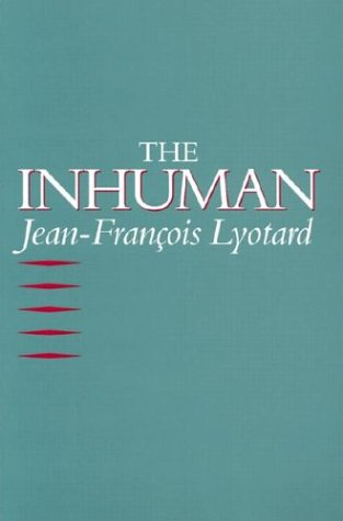 The Inhuman: Reflections on Time 9780804720083