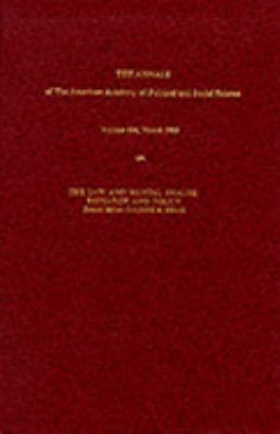 The Law and Mental Health: Research and Policy 9780803926950