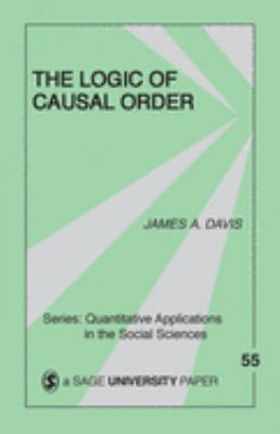 The Logic of Causal Order 9780803925533