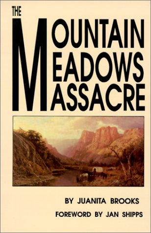 The Mountain Meadows Massacre 9780806123189