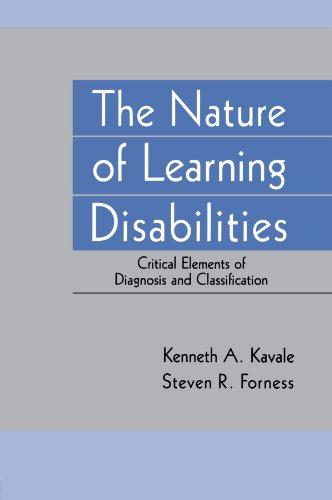 The Nature of Learning Disabilities: Critical Elements of Diagnosis and Classification 9780805816075