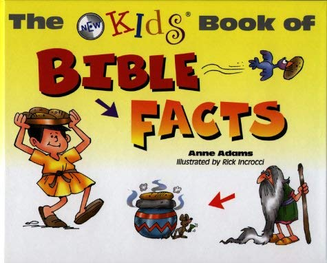 The New Kids Book of Bible Facts 9780801044410