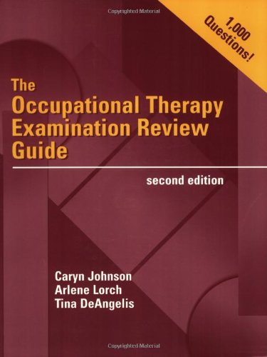 The Occupational Therapy Examination Review Guide [With CDROMWith CD] 9780803607767