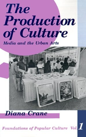 The Production of Culture: Media and the Urban Arts 9780803936942