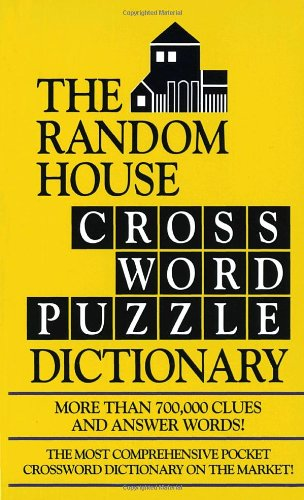 The Random House Crossword Puzzle Dictionary 9780804113496