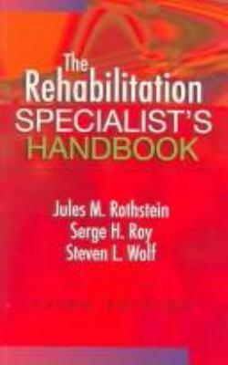 The Rehabilitation Specialist's Handbook 9780803612389