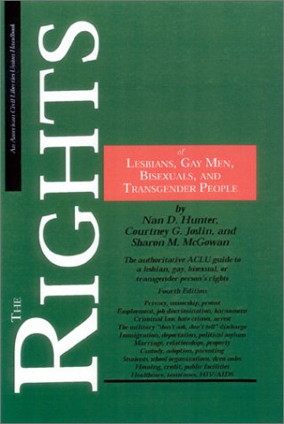 The Rights of Lesbians, Gay Men, Bisexuals, and Transgender People 9780809325184