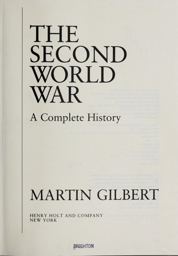 Second World War : A Complete History