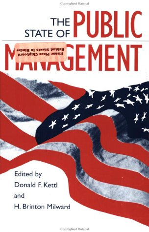The State of Public Management 9780801852763