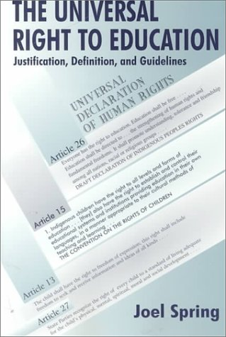 The Universal Right to Education P 9780805835489